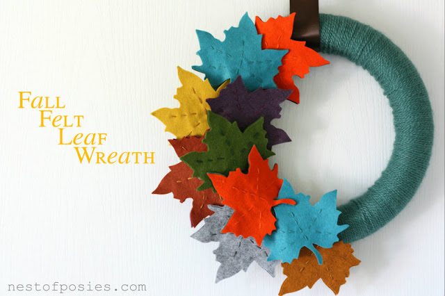 fall-felt-leaf-wreath