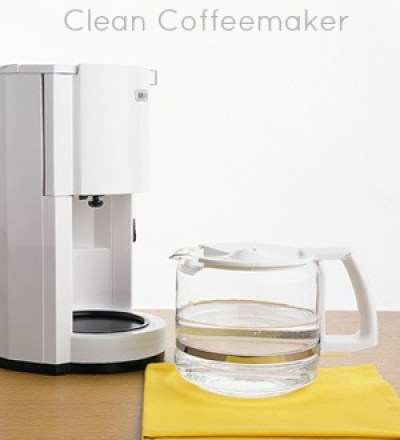 coffeemaker kitchen cleaning tips
