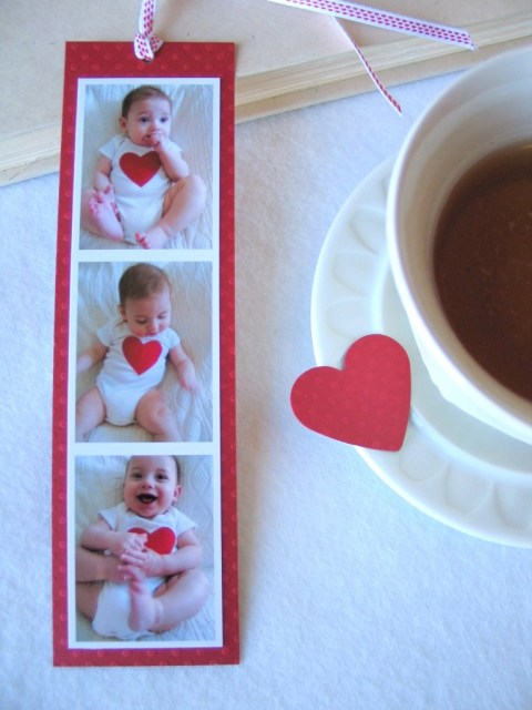 photo bookmark for men