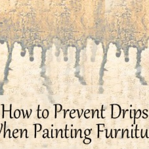 prevent paint drips