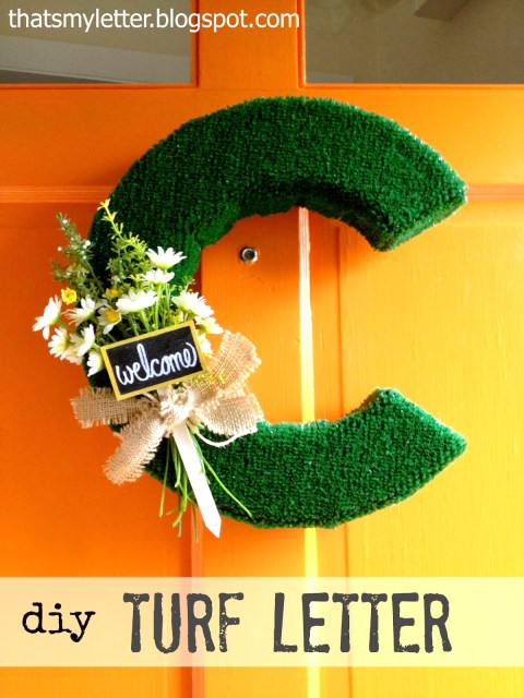 turf letters tutorial