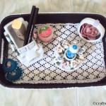 crochet DIY tray