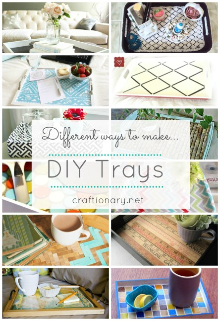 decorative DIY trays