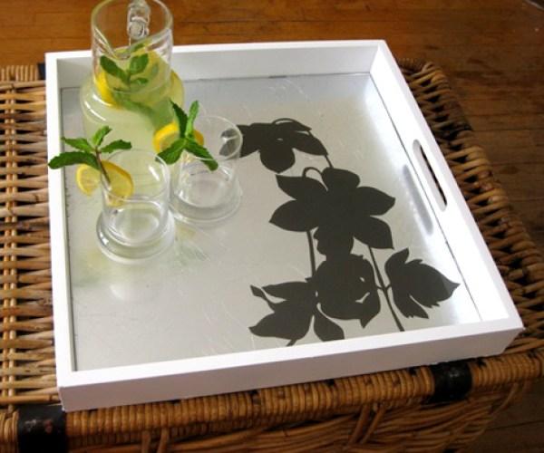 decorative DIY tray