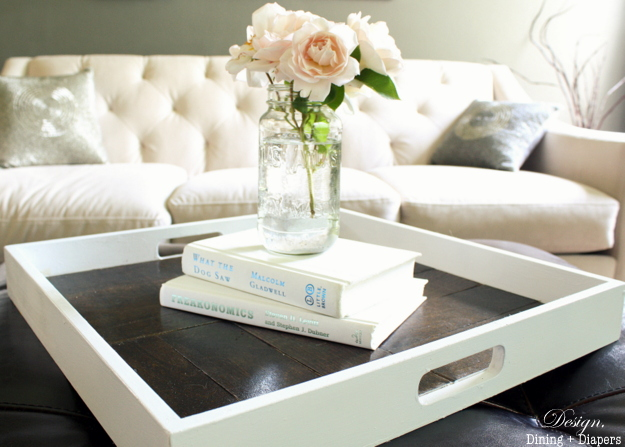 wooden decorative tray tutorial