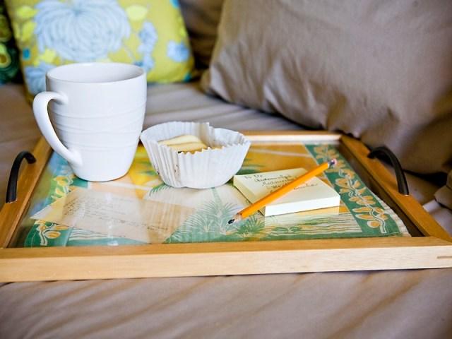 frame DIY tray