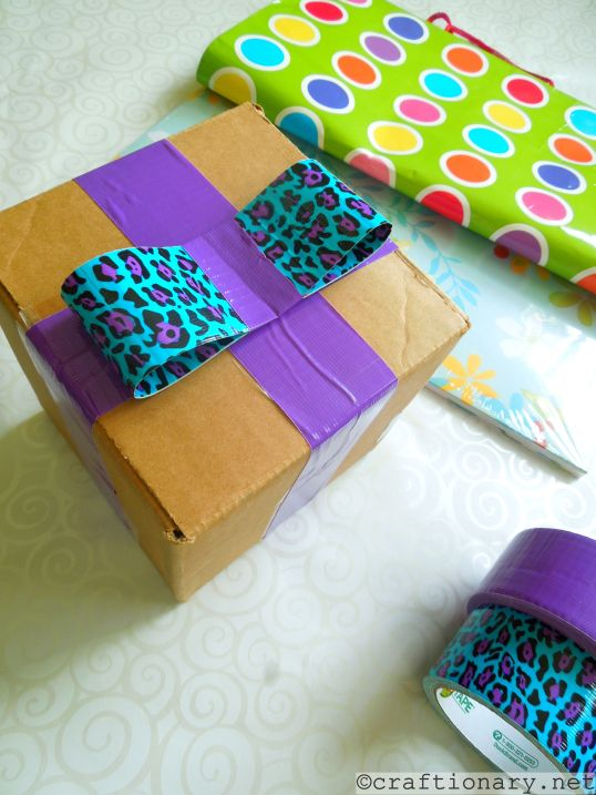 easy gift wrapping idea