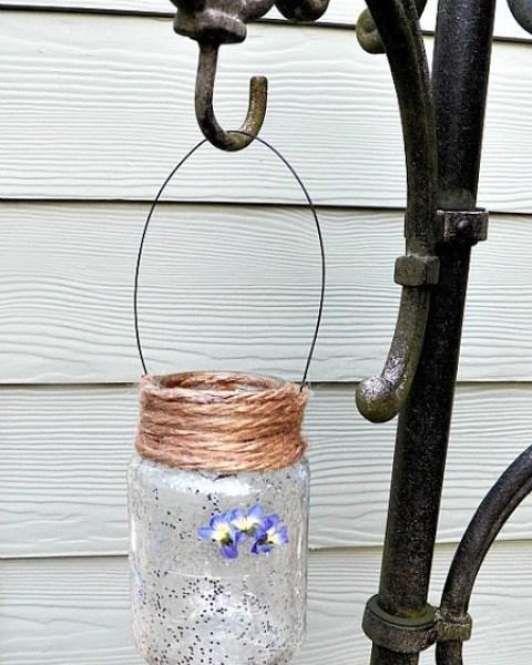 glitter dream jar