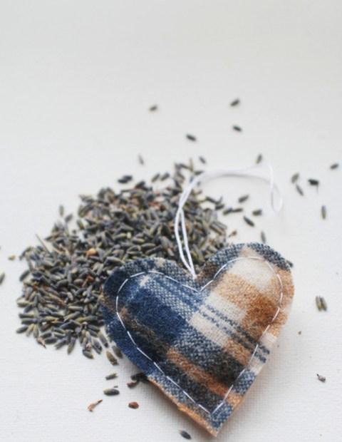 handmade gift lavender sachets