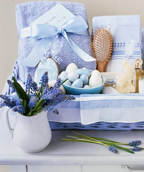 handmade gift spa basket
