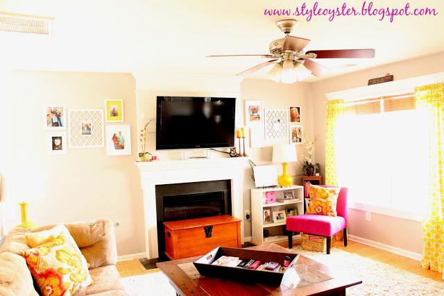living room transformation reveal