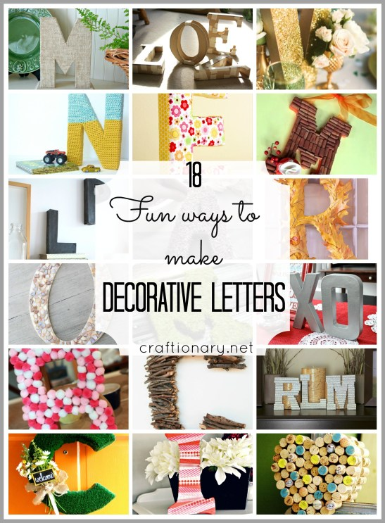 make decorative letters