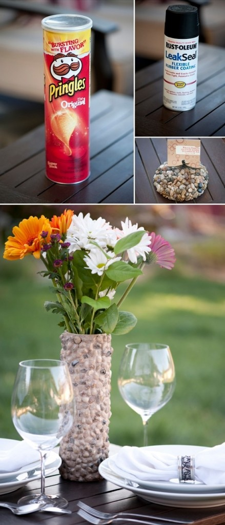recycle vases