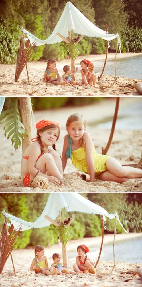 beach tent idea
