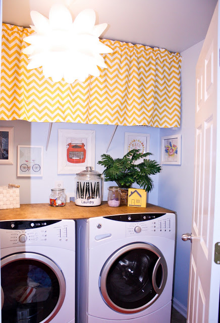 DIY easy laundry room makeover