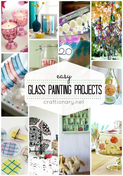EASY GLASS PAINTING PAINTS
