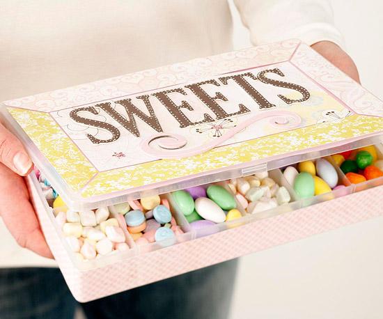 best gift ideas handmade candy gift box