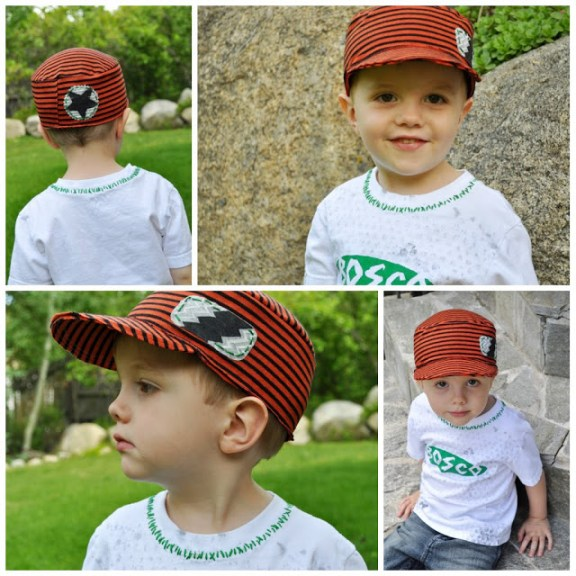 DIY boy caps hats