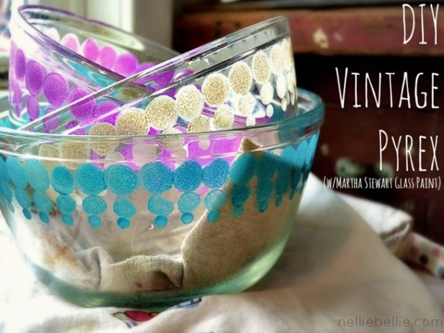DIY GLASS PAINTING DISHES