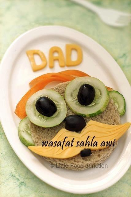 fathers day sandwich