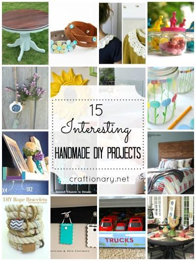 15 Handmade DIY Projects