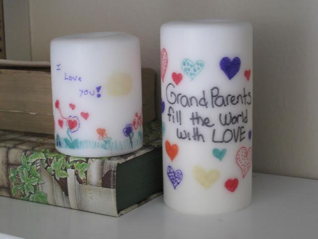handmade candles gift