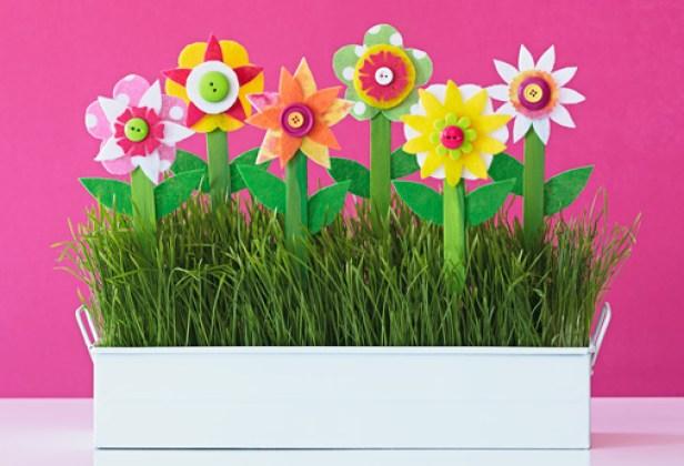 paper flower pot for mom