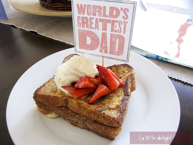 recipes fathers day