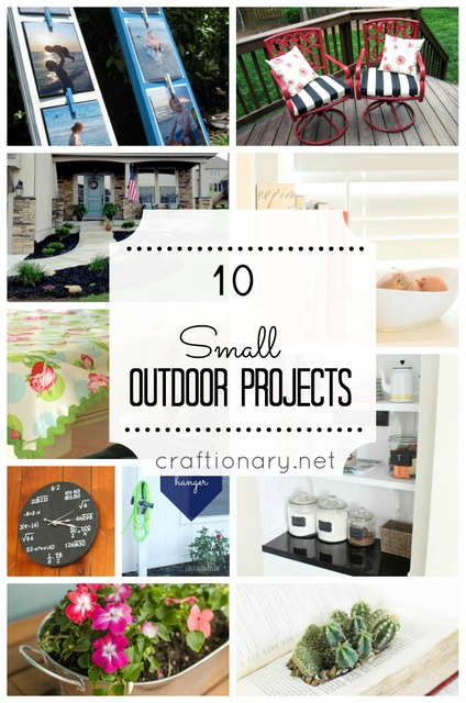 small outdoor projects