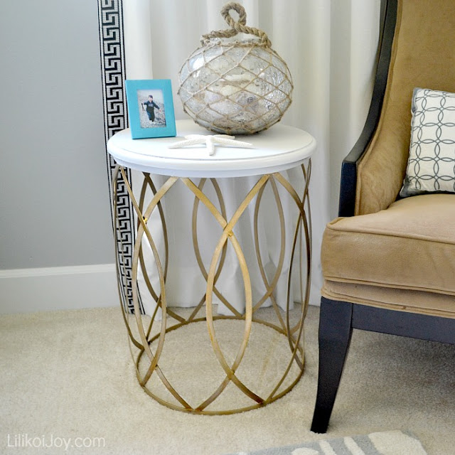 painted side table diy