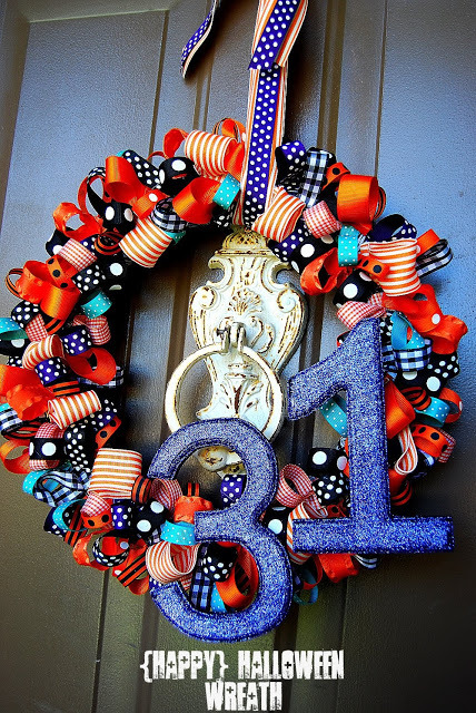 ribbons 31 wreath