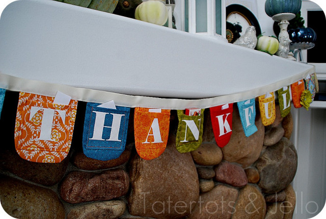 Thanksgiving countdown bunting