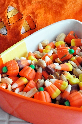 candy corn Halloween recipe