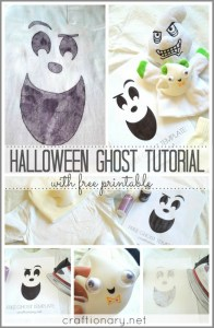 happy halloween ghost printable