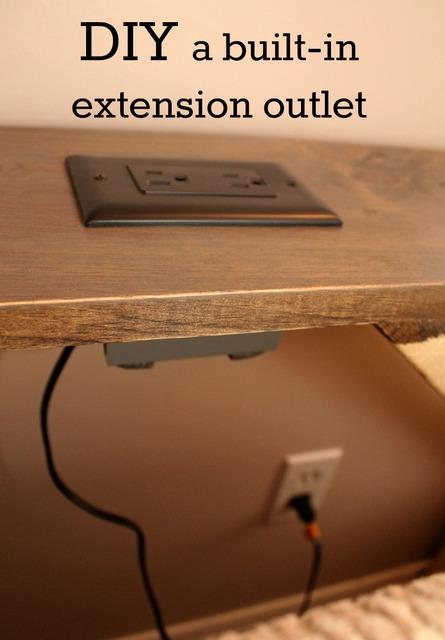 DIY built-in extension