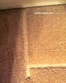 furniture dents from carpet