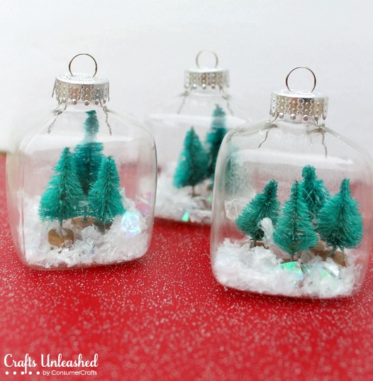 snowglobe ornaments