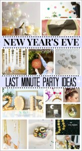 DIY new years eve