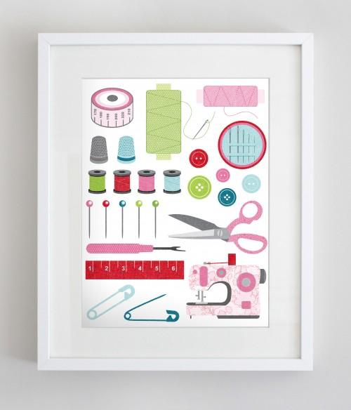 craft supplies free printable