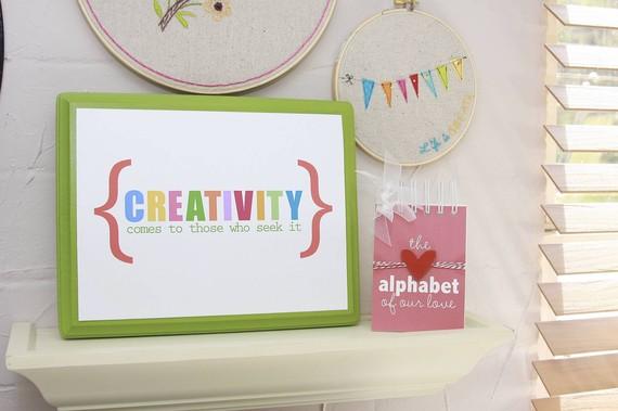 creativity free printable