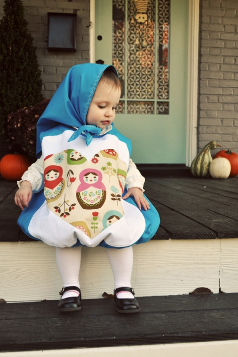 russian doll costume