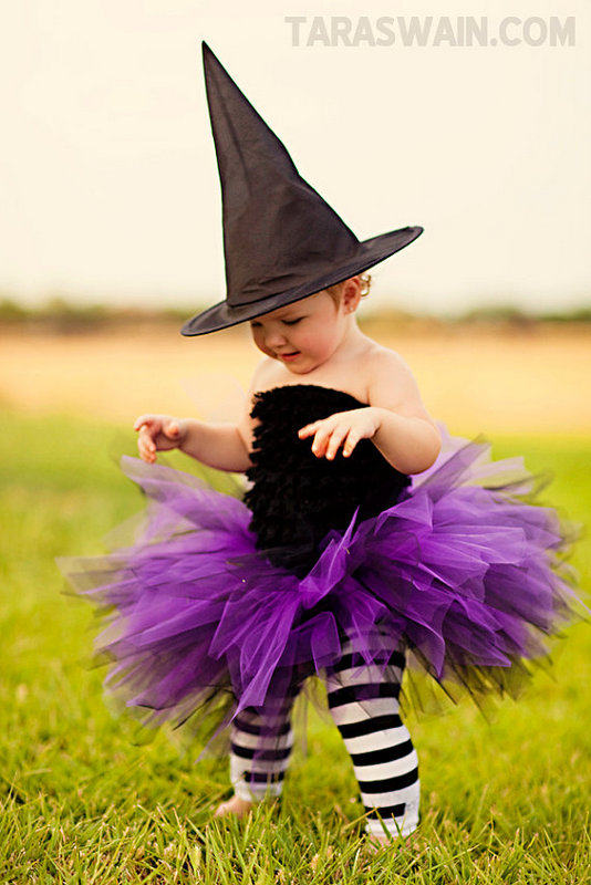 witch baby costume