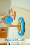 kids room hanging organizer
