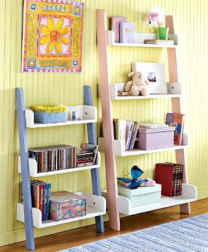 Books storage display