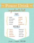 free printable power drink