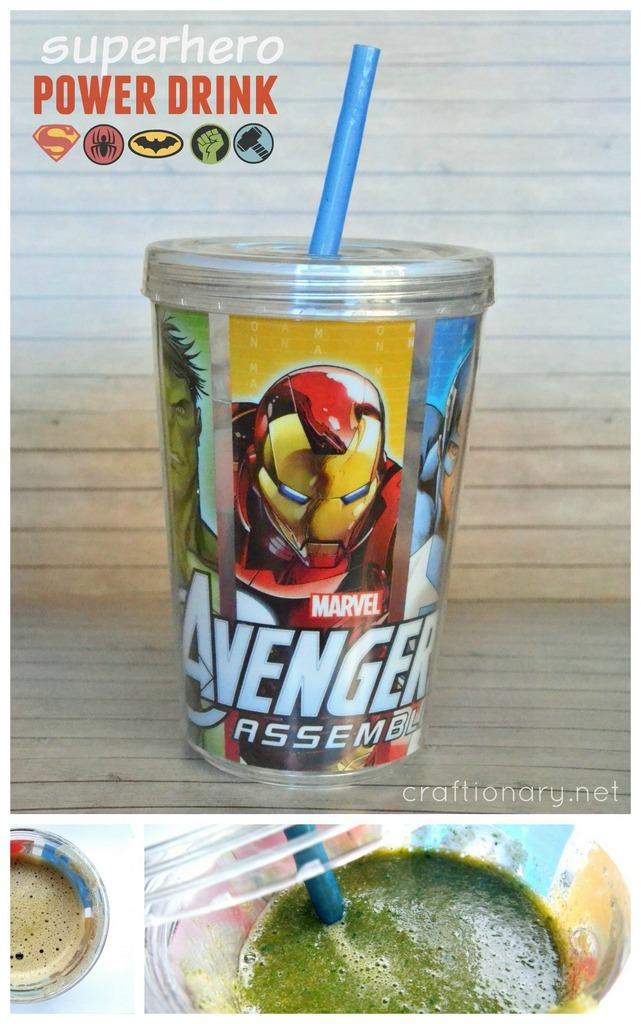 superhero power drink