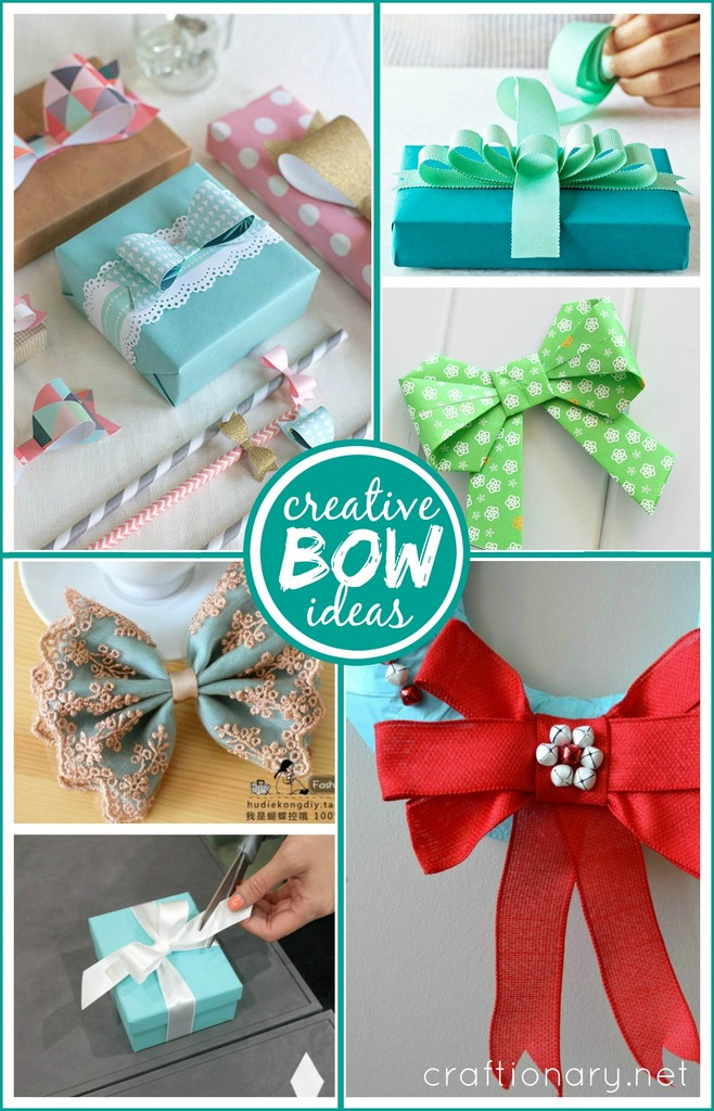 Creative bow ideas at craftionary.net