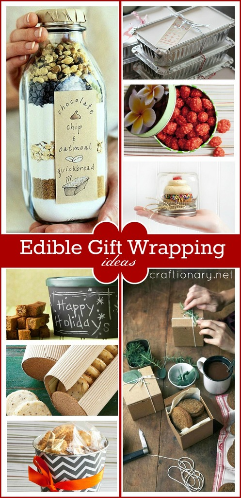 Edible gift wrapping ideas at craftionary.net