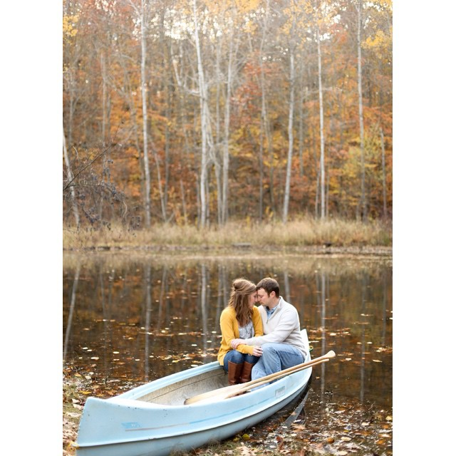Fall photo idea on the boat