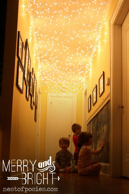 adding lights in the hallway